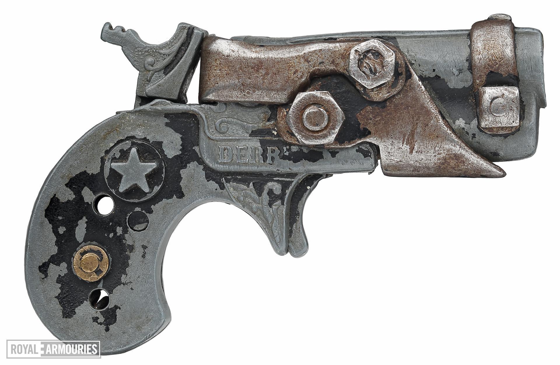 Rimfire breech-loading pistol - Homemade
