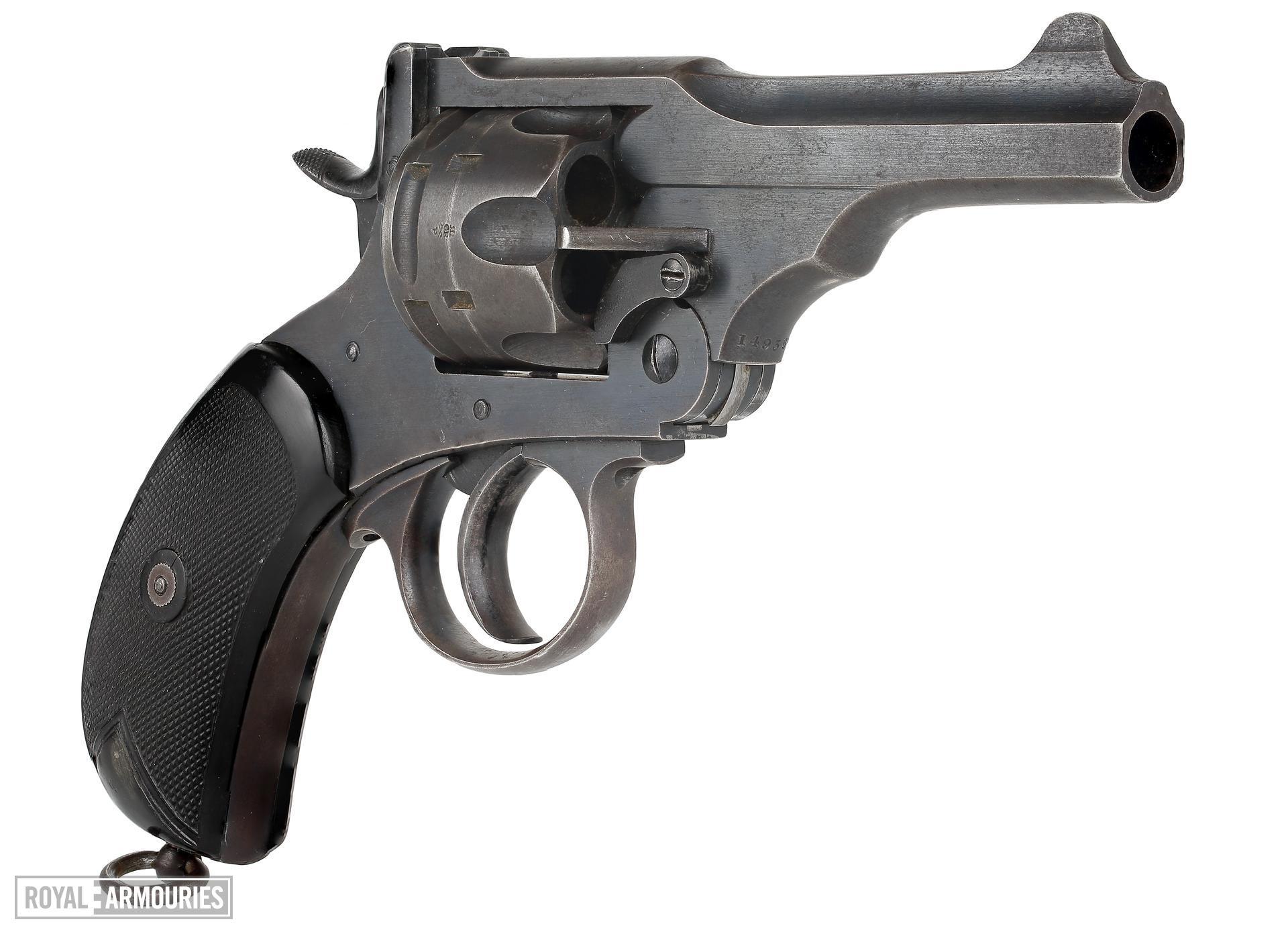Centrefire six-shot military revolver - Webley Mk.V