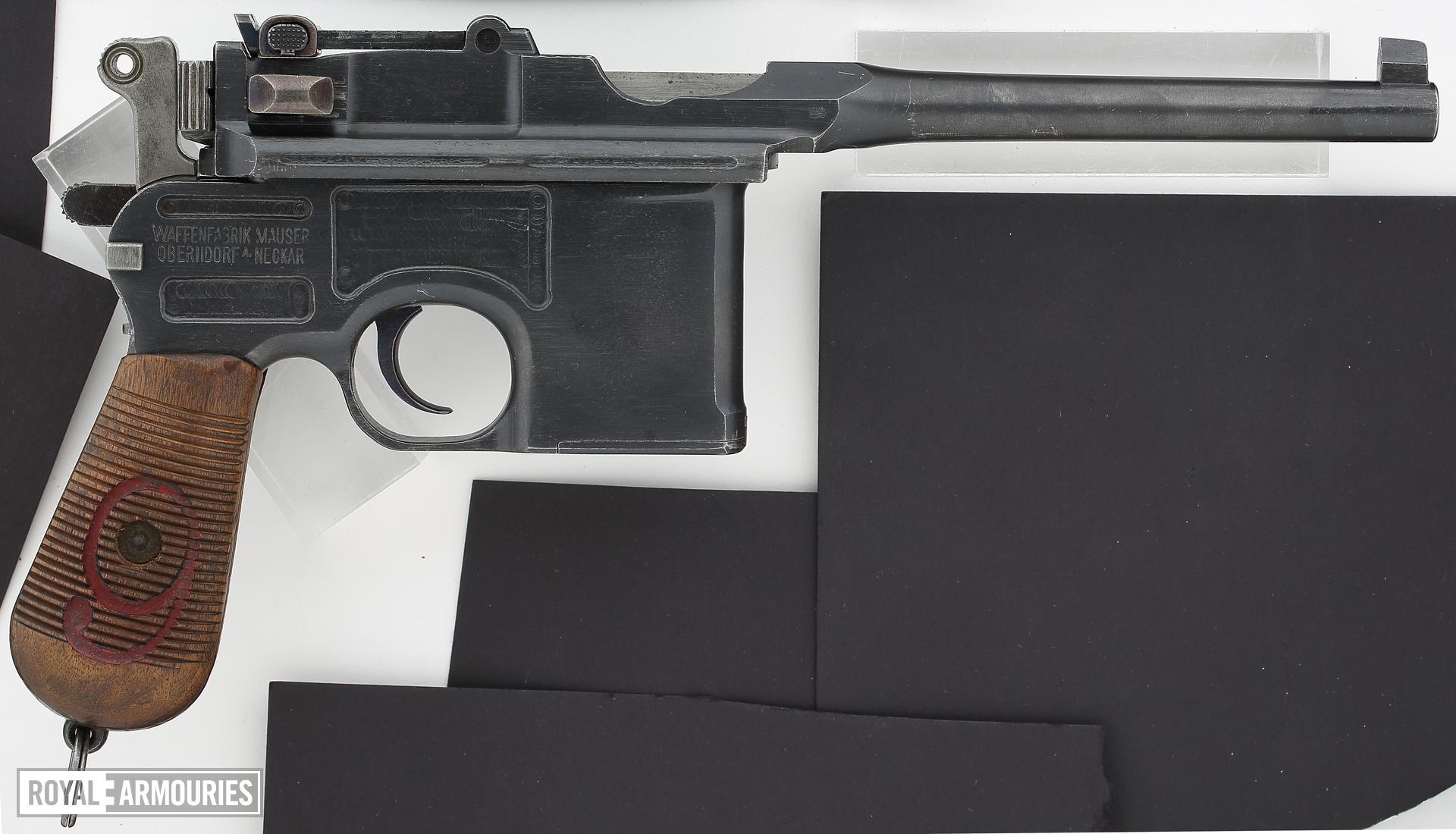 Centrefire self-loading pistol - Mauser C96 'Red Nine'