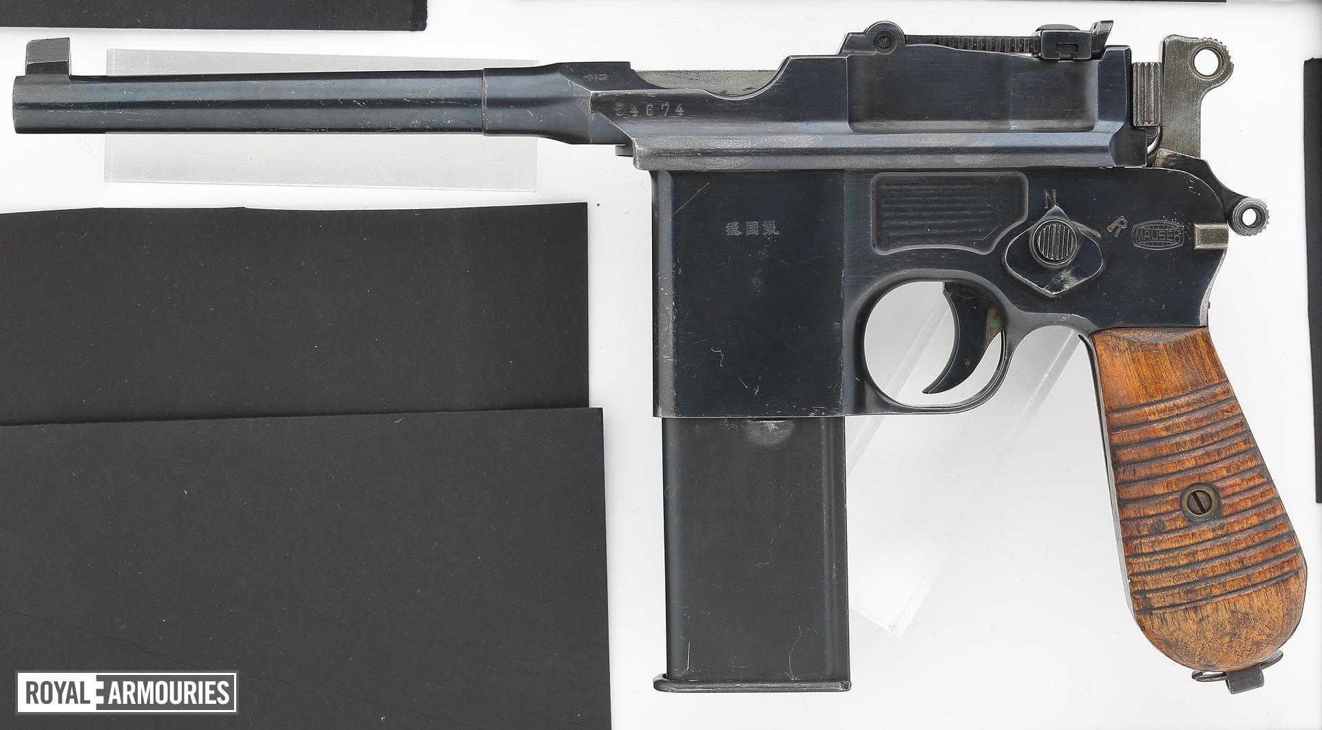 Centrefire automatic pistol - Mauser C96 Model 712