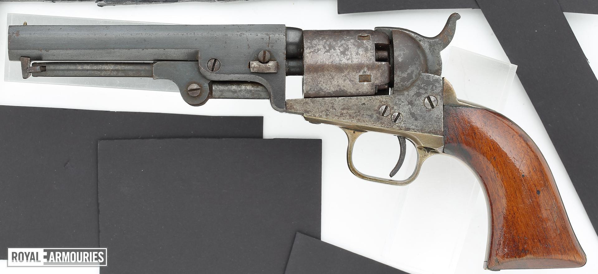 Percussion six-shot revolver - Colt Pocket Model 1849
