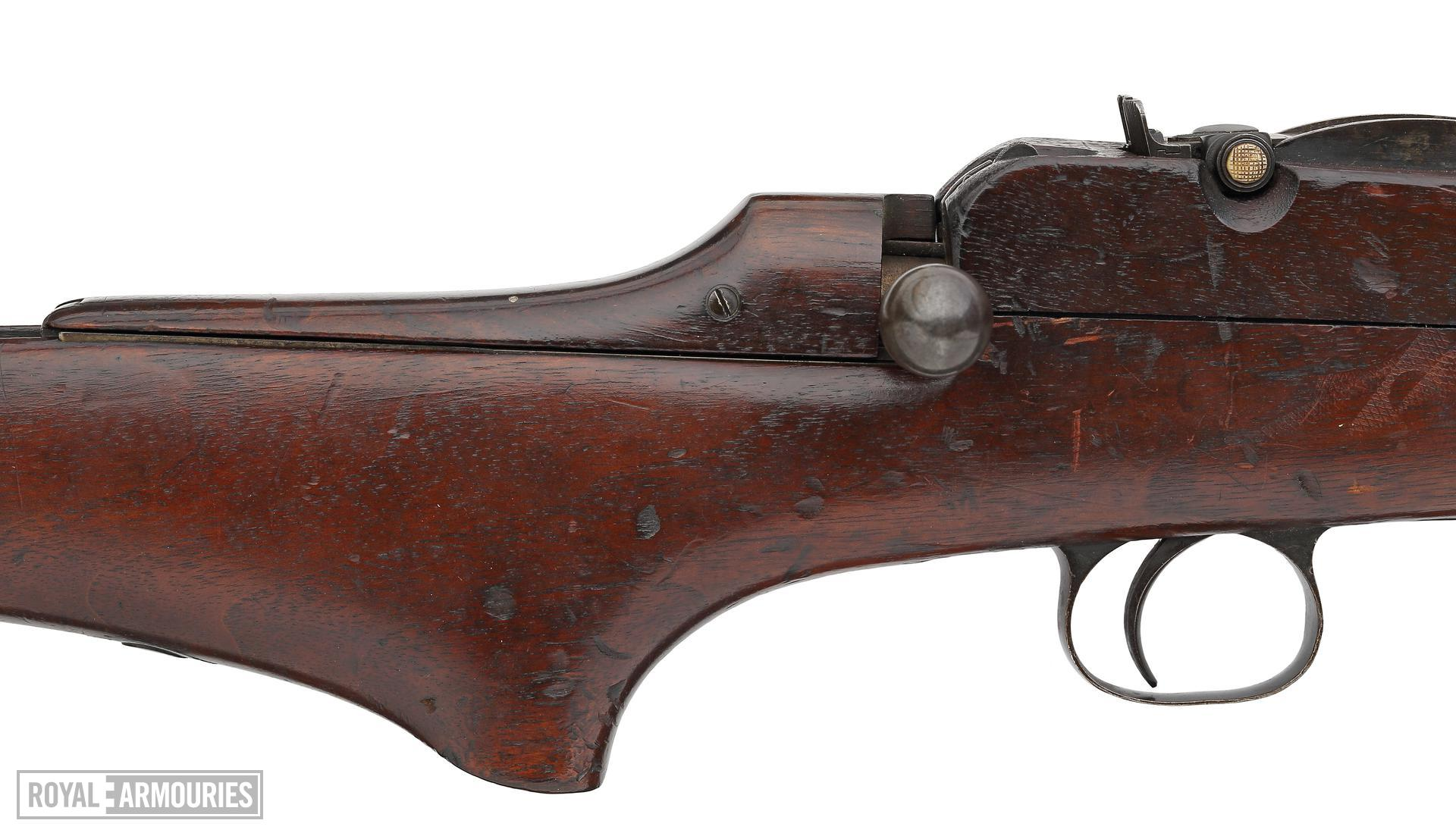 Centrefire bolt-action rifle - Thorneycroft Model 1906 Experimental