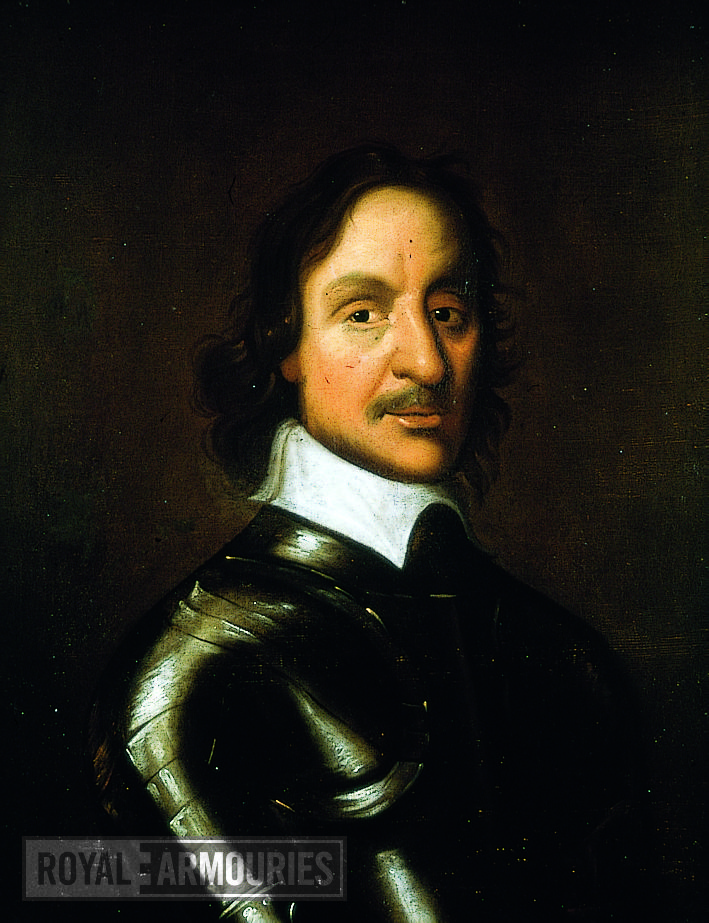 Painting Portrait of Oliver Cromwell, oil on canvas