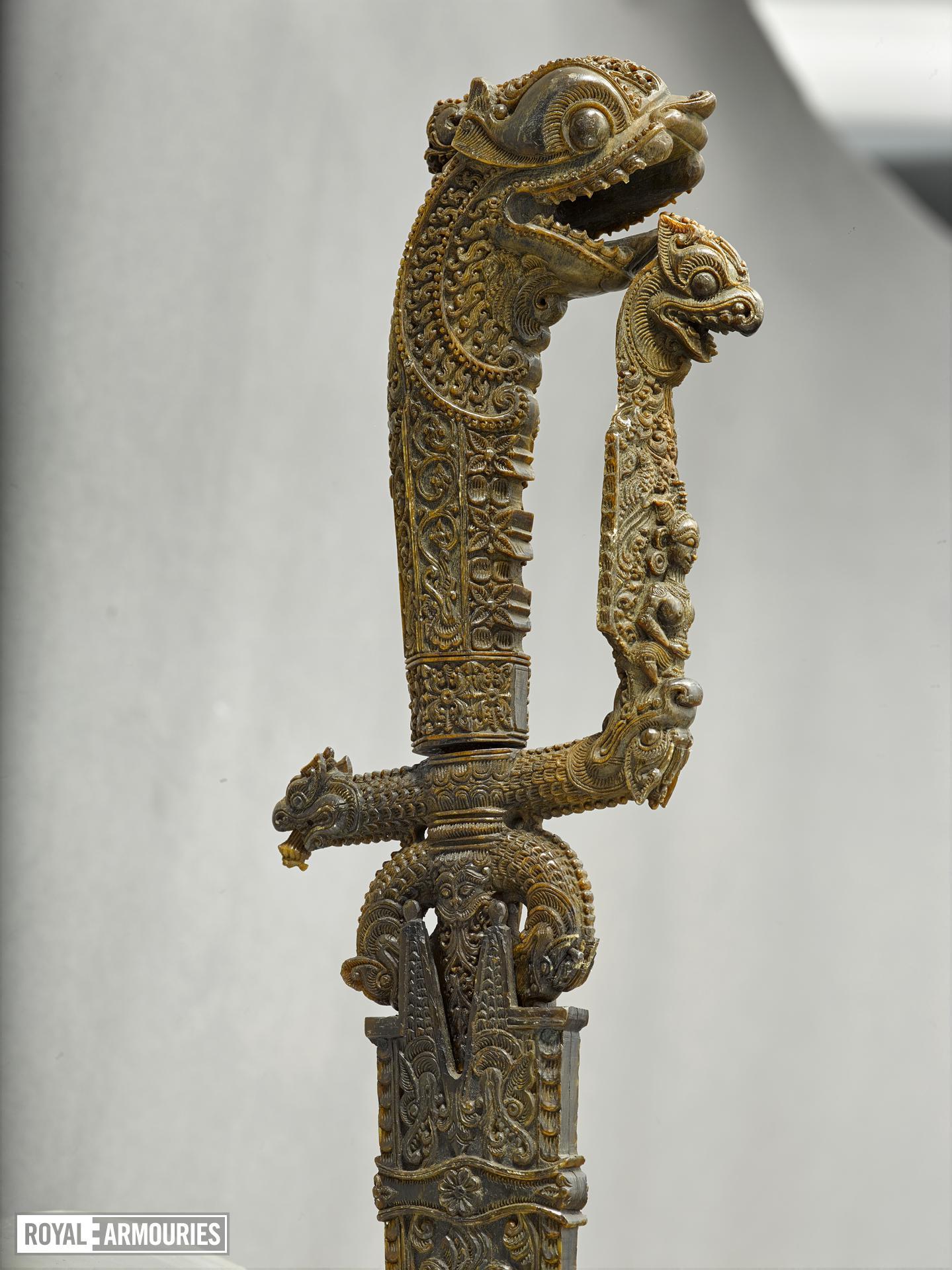 Sword (kastane) with European blade
