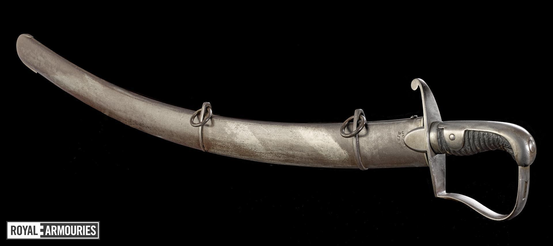 Light Cavalry Trooper sword, Pattern 1796, Britain, Birmingham, 1808-1820 (IX.245)