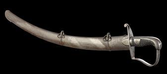Thumbnail image of Light Cavalry Trooper sword, Pattern 1796, Britain, Birmingham, 1808-1820 (IX.245)