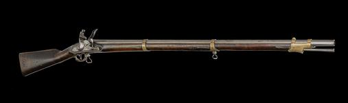 Thumbnail image of Model 1809  flintlock muzzle-loading military musket, about 1810, German / Prussian (XII.239)