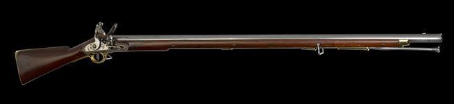Thumbnail image of Flintlock muzzle-loading military musket - Model 1804 New Land Pattern New Land model, Small lock