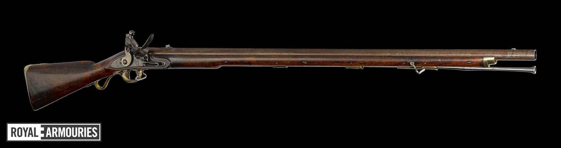 Flintlock muzzle-loading military musket - Model1805 New Land Light Infantry Pattern