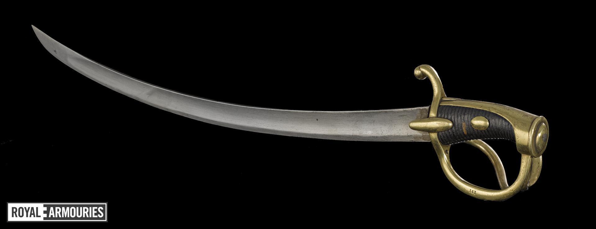 Light Cavalry Sword, France, 1813 (IX.1133)