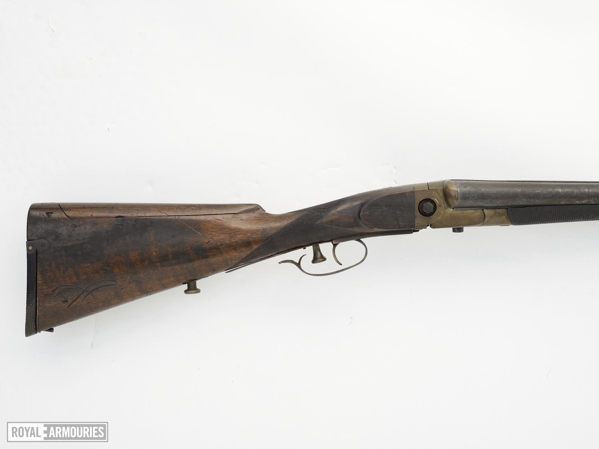 Centrefire breech-loading double-barrelled shotgun