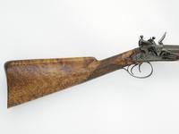 Thumbnail image of Flintlock gun - By Morris Manton locks