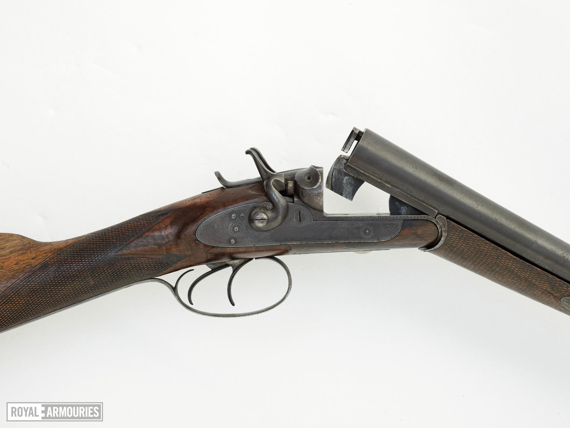 Centrefire breech-loading double-barrelled shotgun - By William Powell and Son