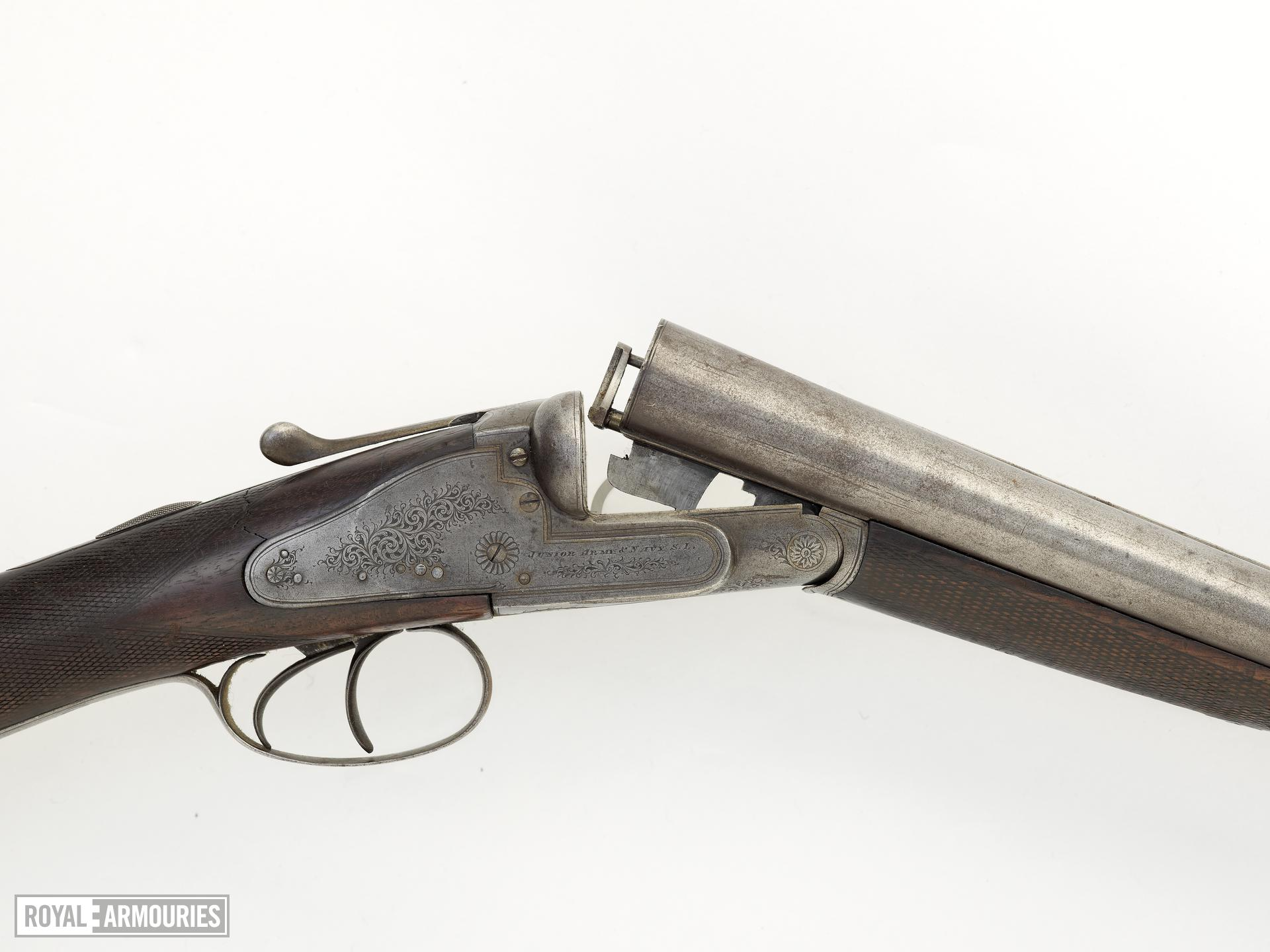 Centrefire breech-loading double-barrelled shotgun - The Junior Army and Navy S. L