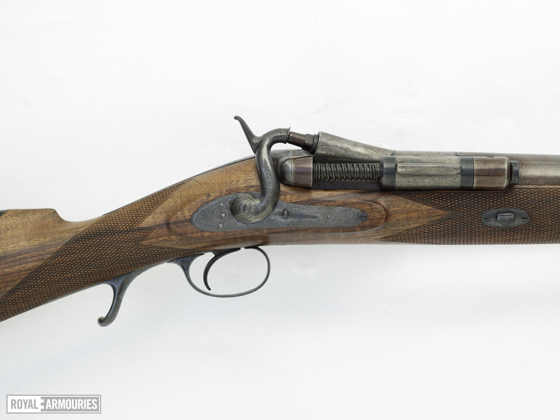 Centrefire breech-loading duck gun - By Frederick Baker