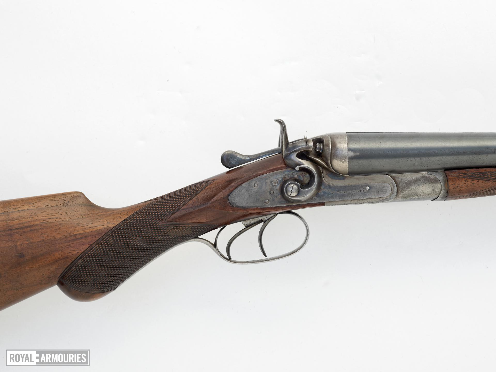 Centrefire breech-loading double-barrelled shotgun - W. W. Greener