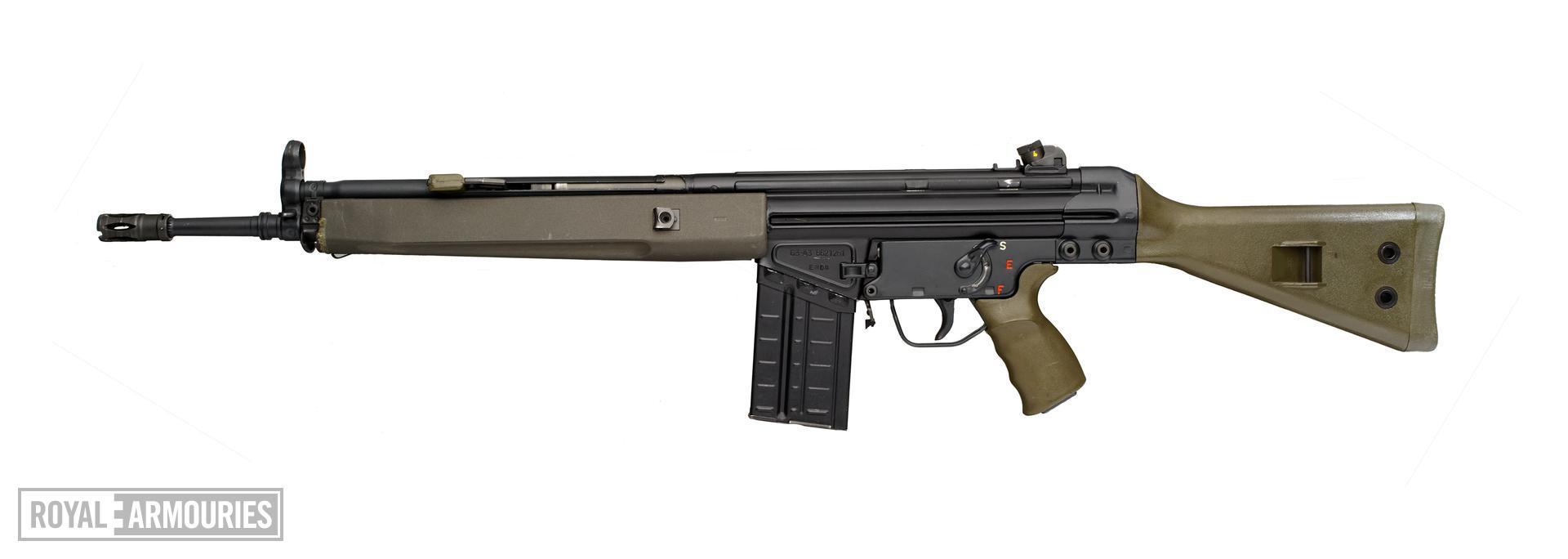 Centrefire automatic rifle - G3A3