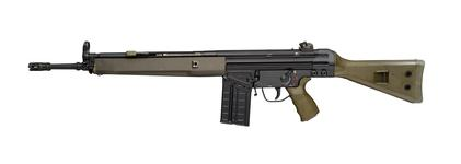 Thumbnail image of Heckler & Koch G3-A3 automatic rifle. German