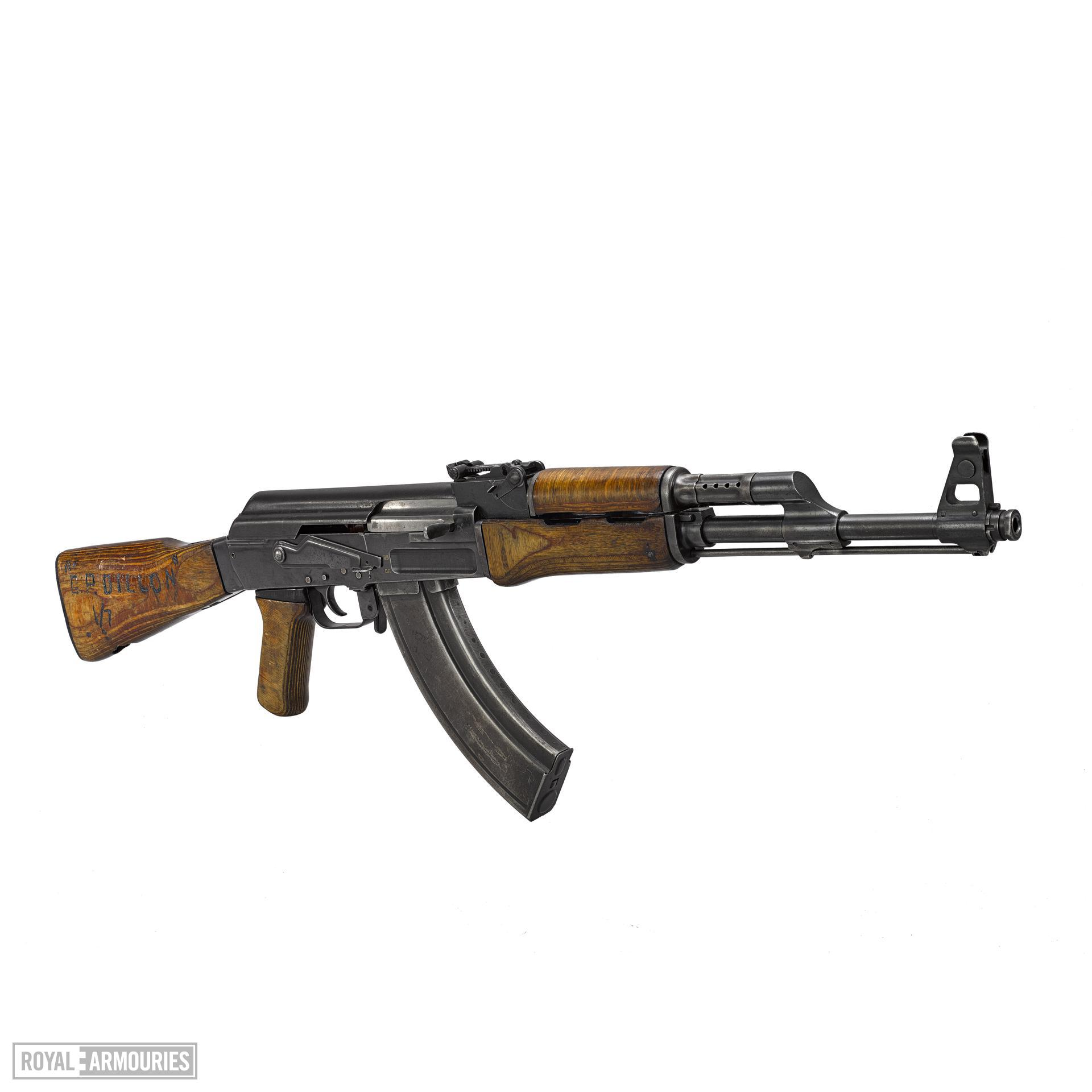 Centrefire automatic rifle - Kalashnikov AK