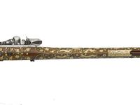 Thumbnail image of Flintlock sporting gun - by Jean Conrad Tornier Lock by Franz Kruter, Solothurn, Switzerland