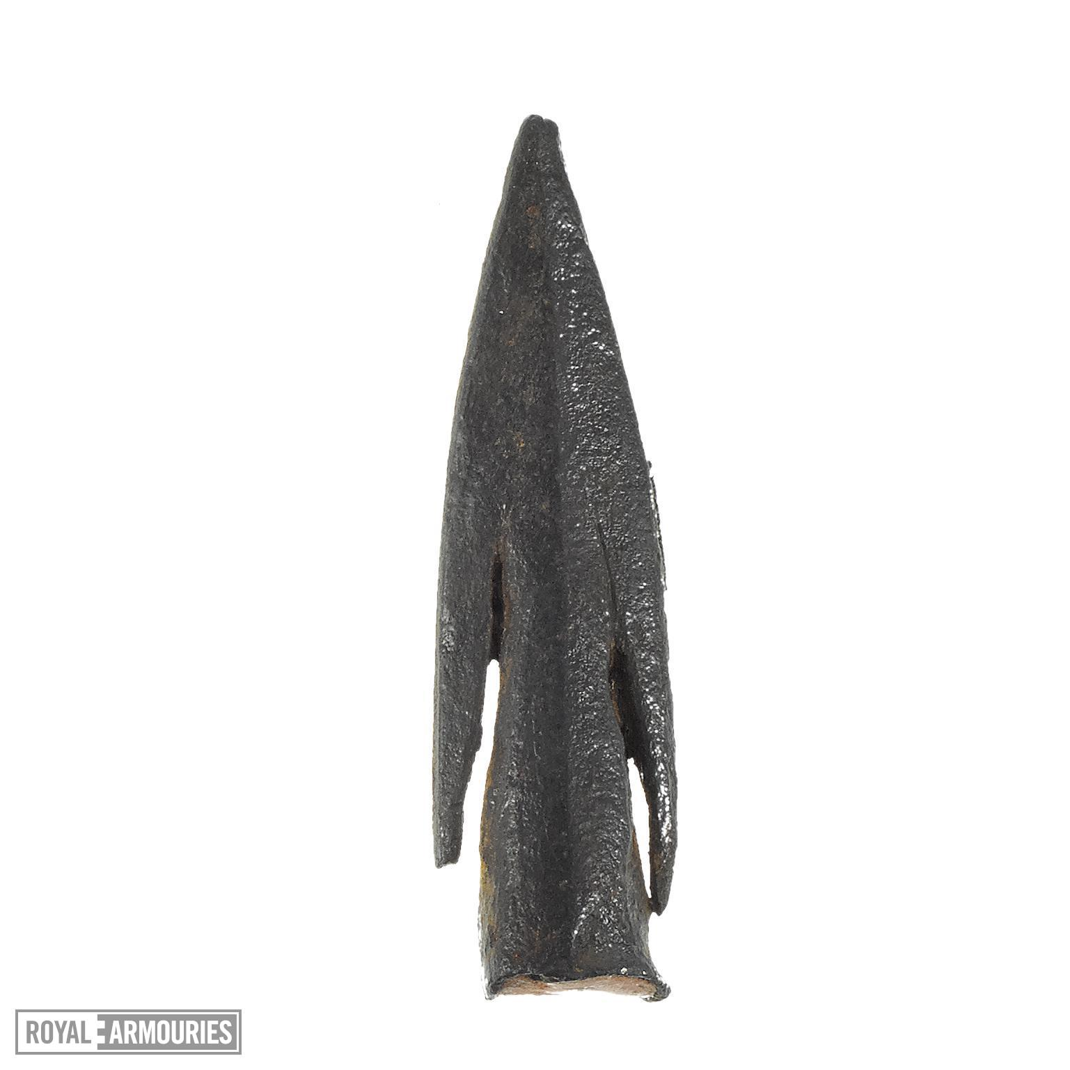 Arrow head, English, 11th to 15th centuries (XI.526)