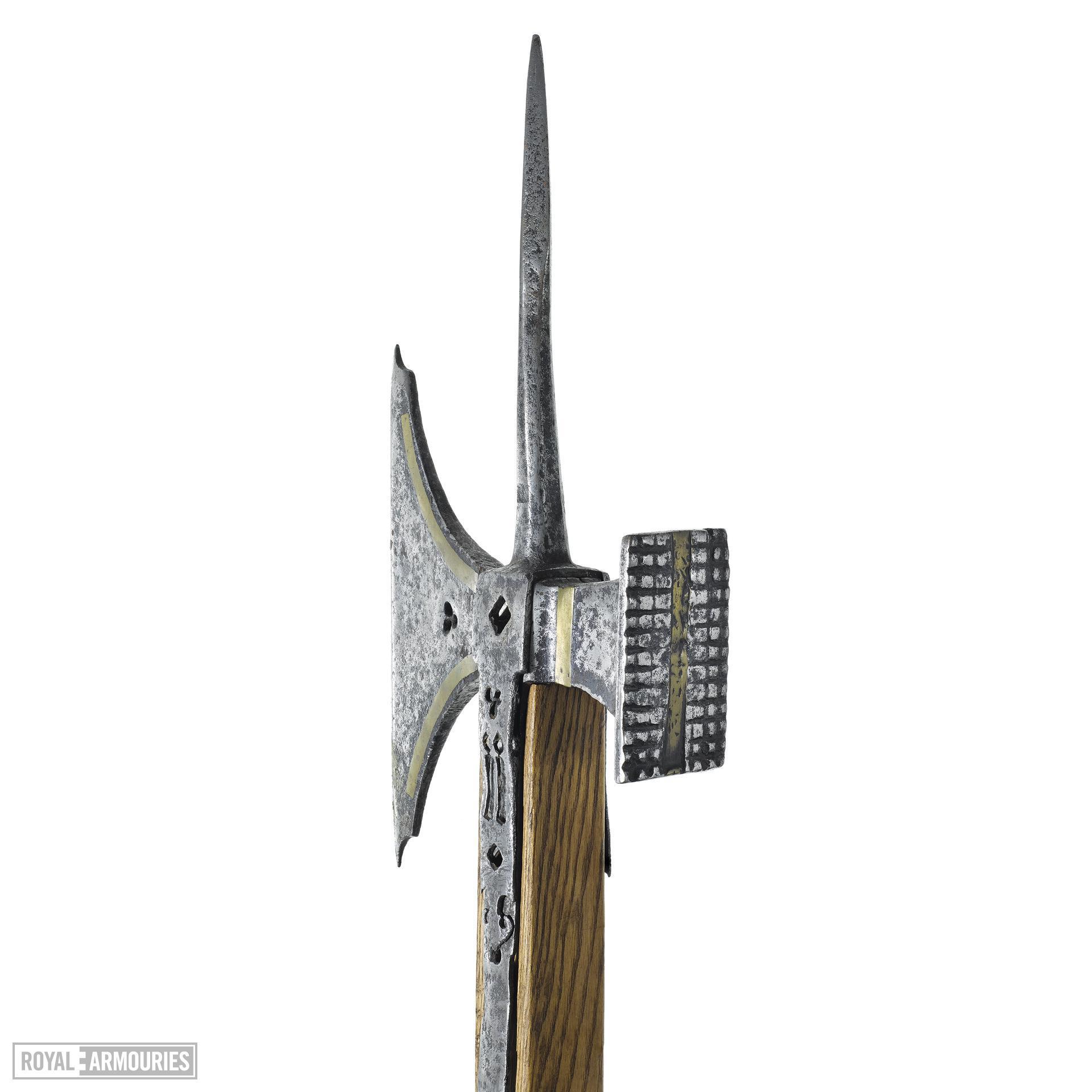Pollaxe, North European, probably English, 1450-1500 (VII.1669)
