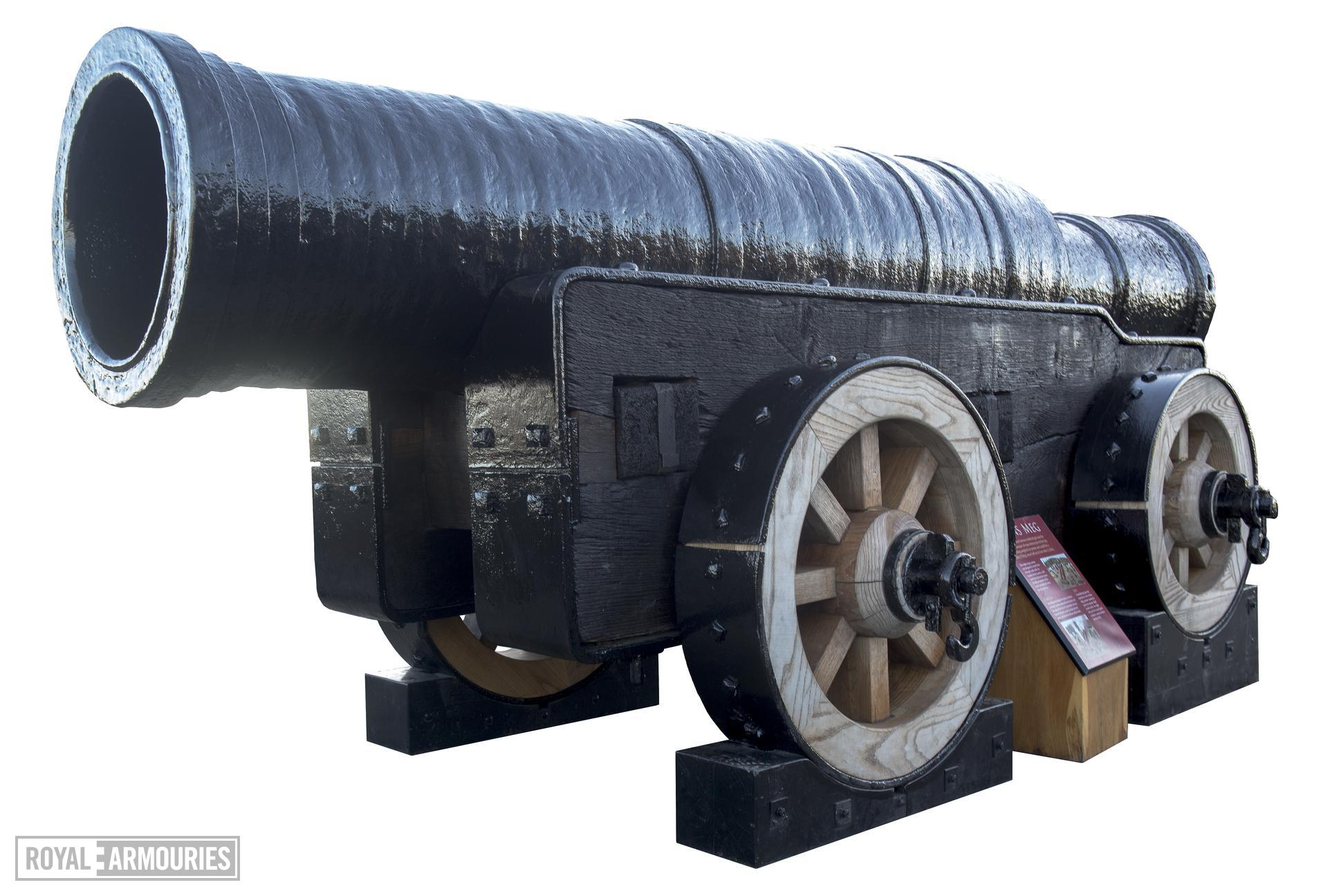 19.5 in bombard and carriage - Mons Meg