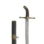 Thumbnail image of Sword (kilic) blade probably Syrian, about 1500. XXVIS.293