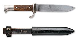 Thumbnail image of Dagger and scabbard for the Hitler Youth. German, about 1930 (X.1770)