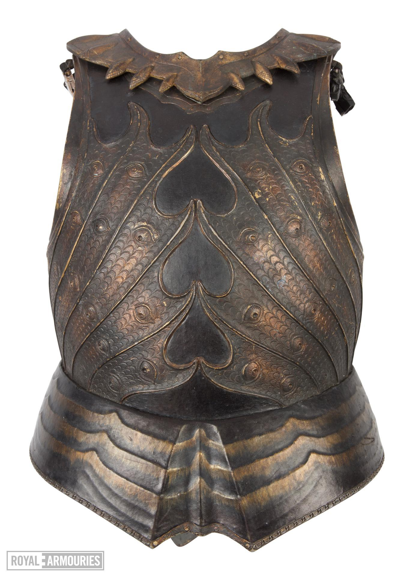 Breastplate, Backplate and Gorget - Breastplate, backplate and gorget from The Lord Marshal's Costume