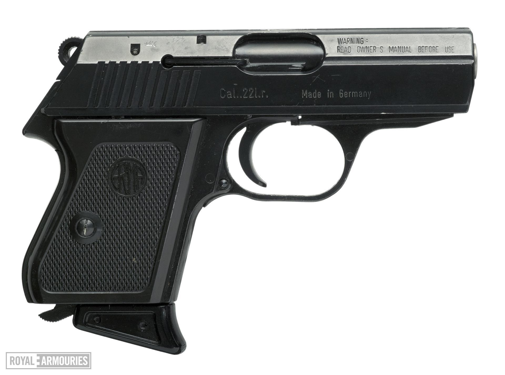 Rimfire self-loading pistol - Erma Model EP 322