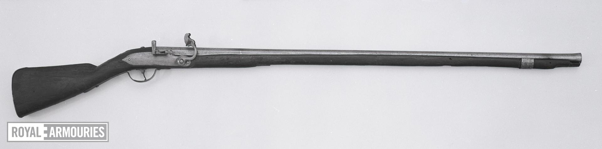 Matchlock military musket