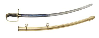 Thumbnail image of Boys' sabre and scabbard of Napoleon II, King of Rome. French, about 1814 (IX.1095)