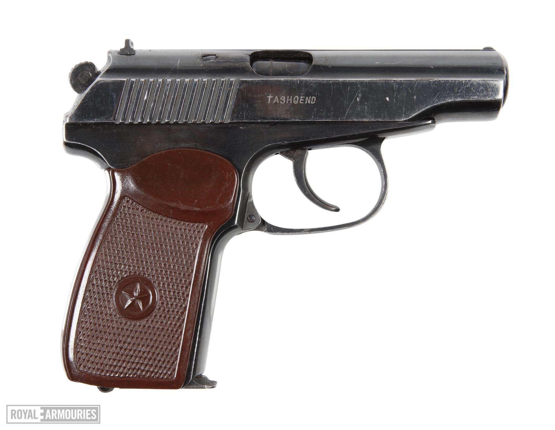 Centrefire self-loading pistol - Makarov PM Darra copy