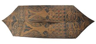 Thumbnail image of Shield with hair tufts. Borneo, early 19th Century