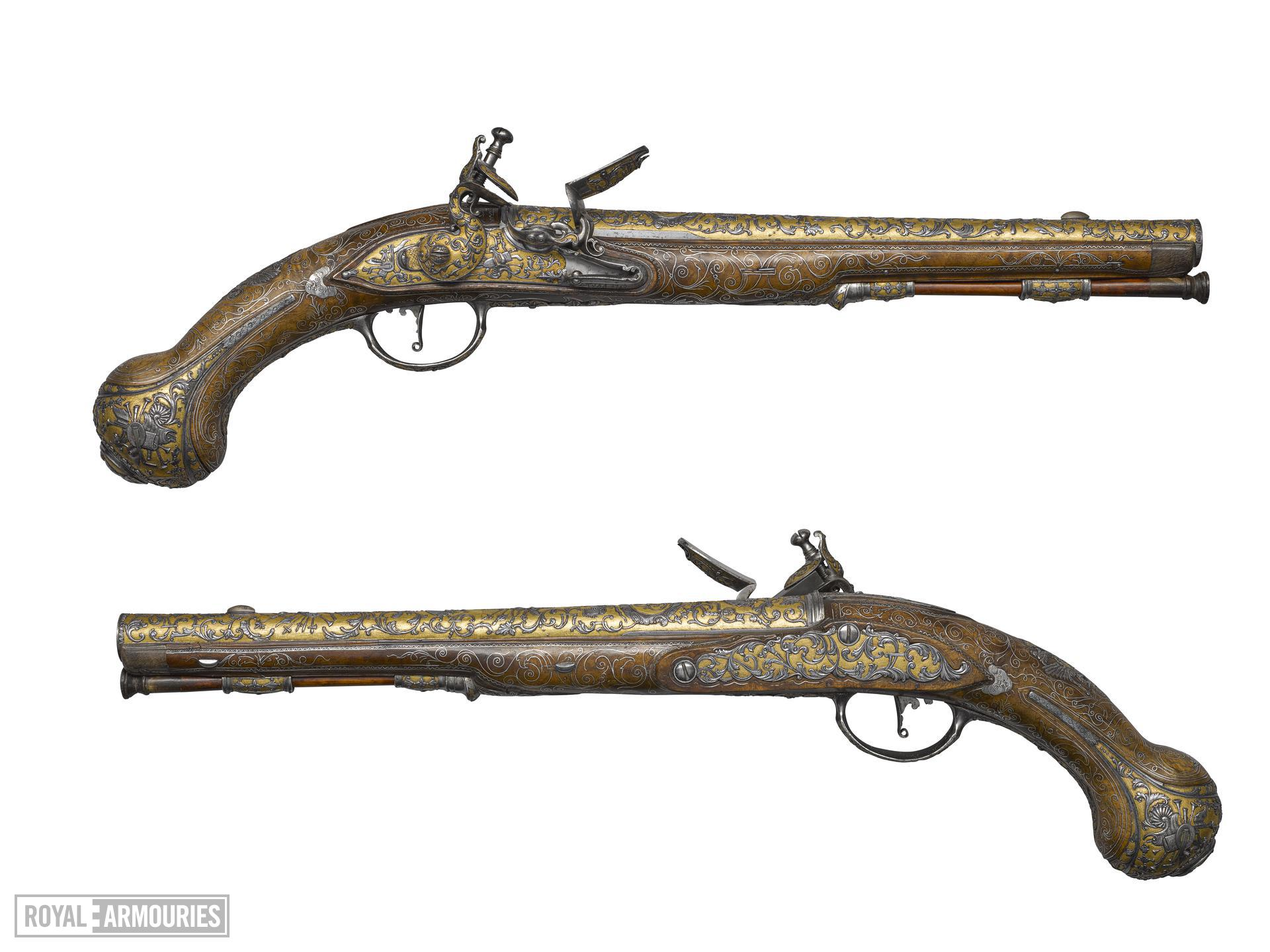 Flintlock sporting gun - part of the Tula Garniture