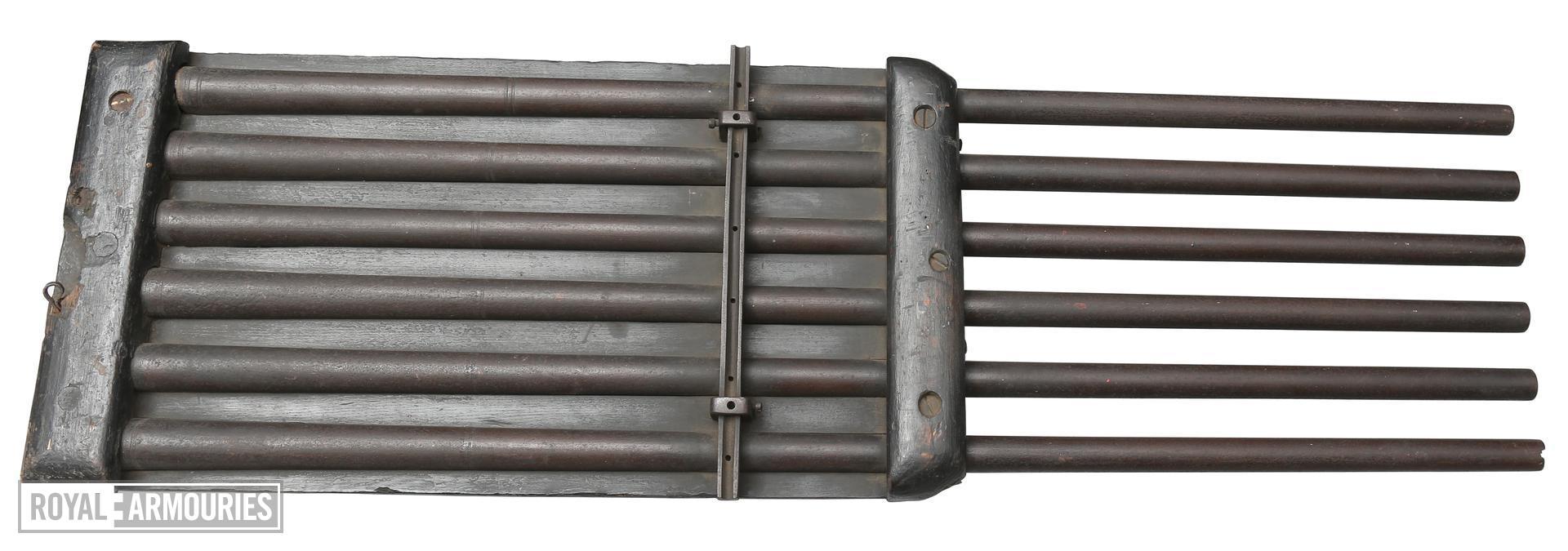 Matchlock organ gun