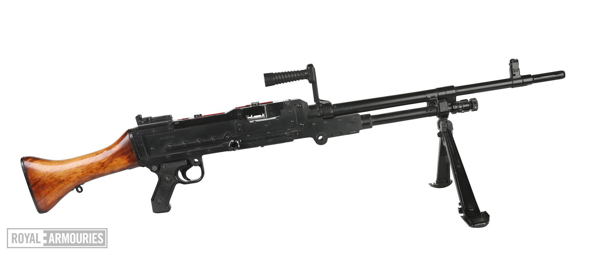Centrefire automatic machine gun - GPMG FN L7A1 Skeleton