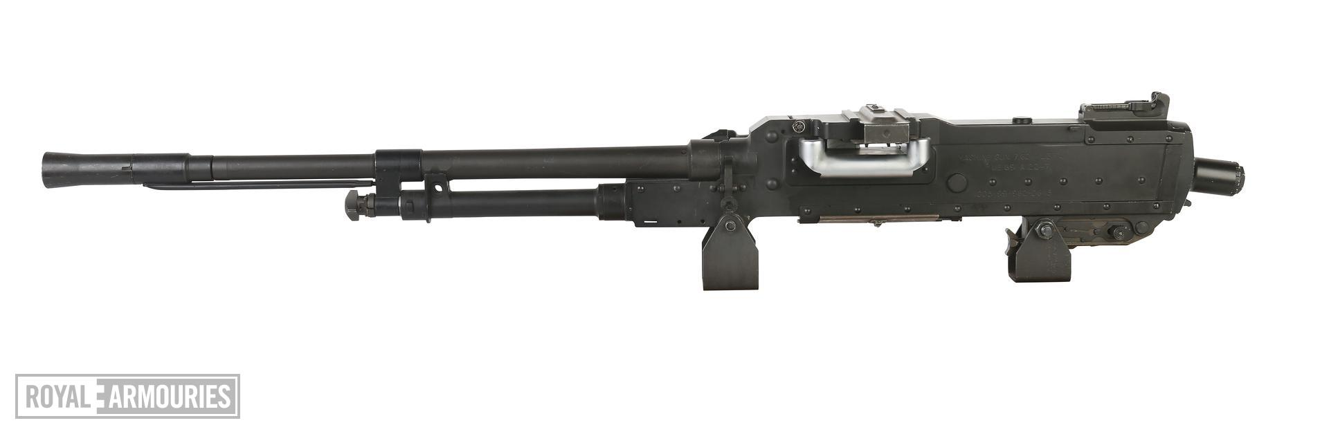 PR.7208 Centrefire automatic machine gun, GPMG FN L37A1. AFV model.