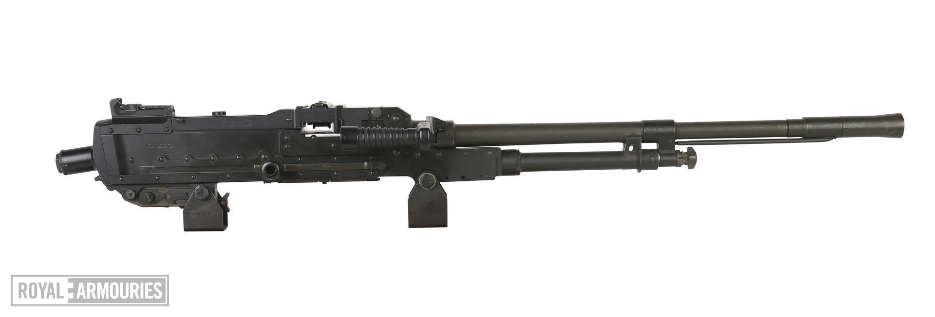 Centrefire automatic machine gun - GPMG FN L37A1