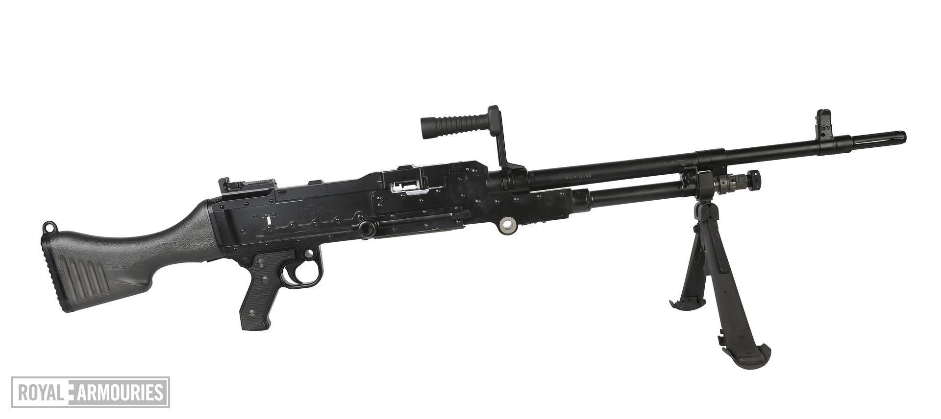 Centrefire automatic machine gun - GPMG FN L44A1