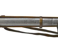 Thumbnail image of Musket with joined barrel.