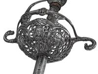 Thumbnail image of Rapier English hilt, Italian blade.