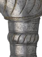 Thumbnail image of Portions of an armour. Puffed and slashed, probably by Kolman Helmshmid