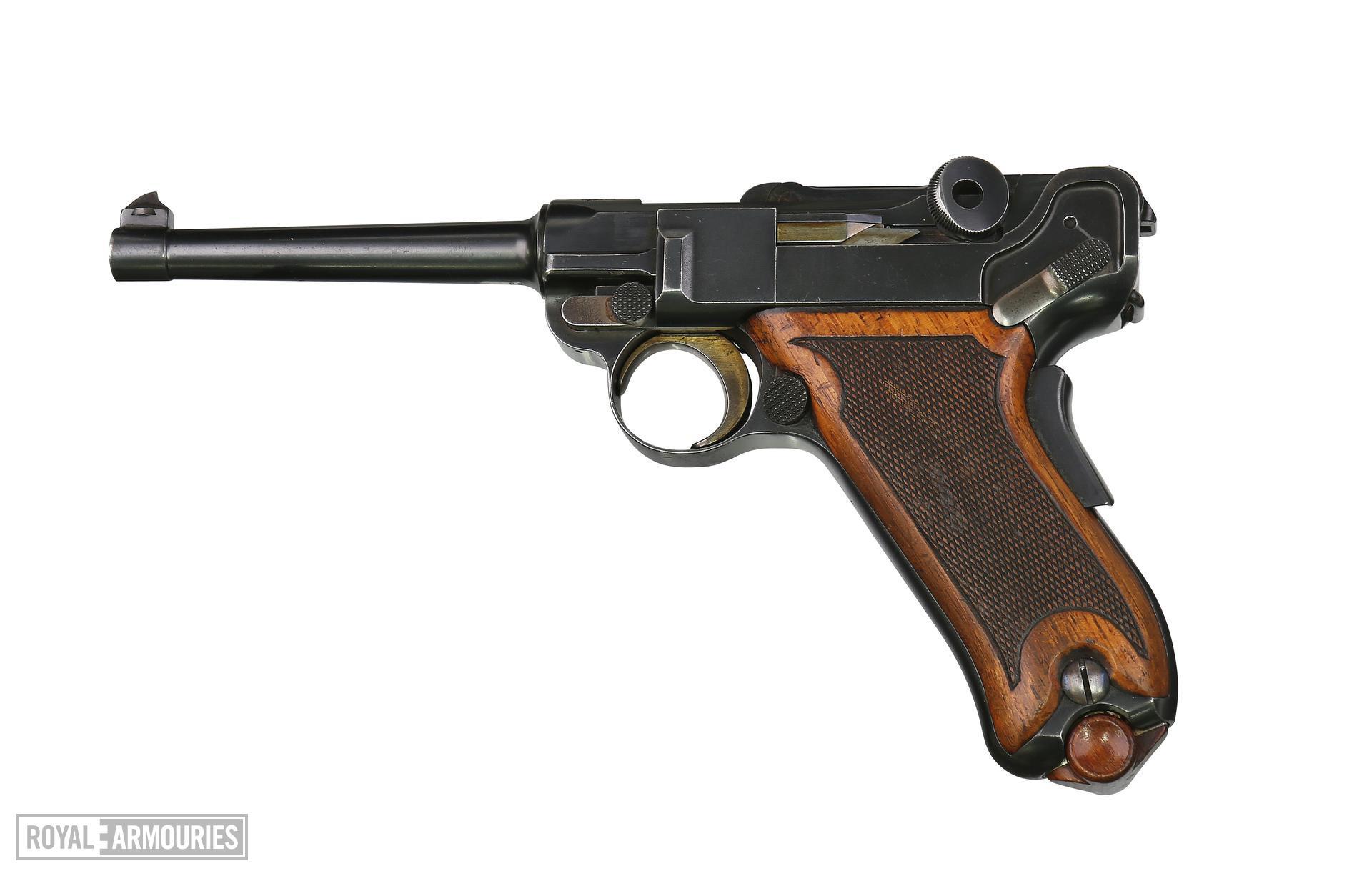 Centrefire self-loading pistol - Luger Model 1899