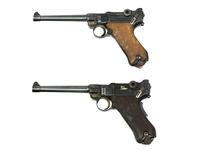 Thumbnail image of Luger P04 centrefire self-loading pistols Manufactured by D.W.M (Deutsche Waffen-und Munitionsfabriken). PR.2983