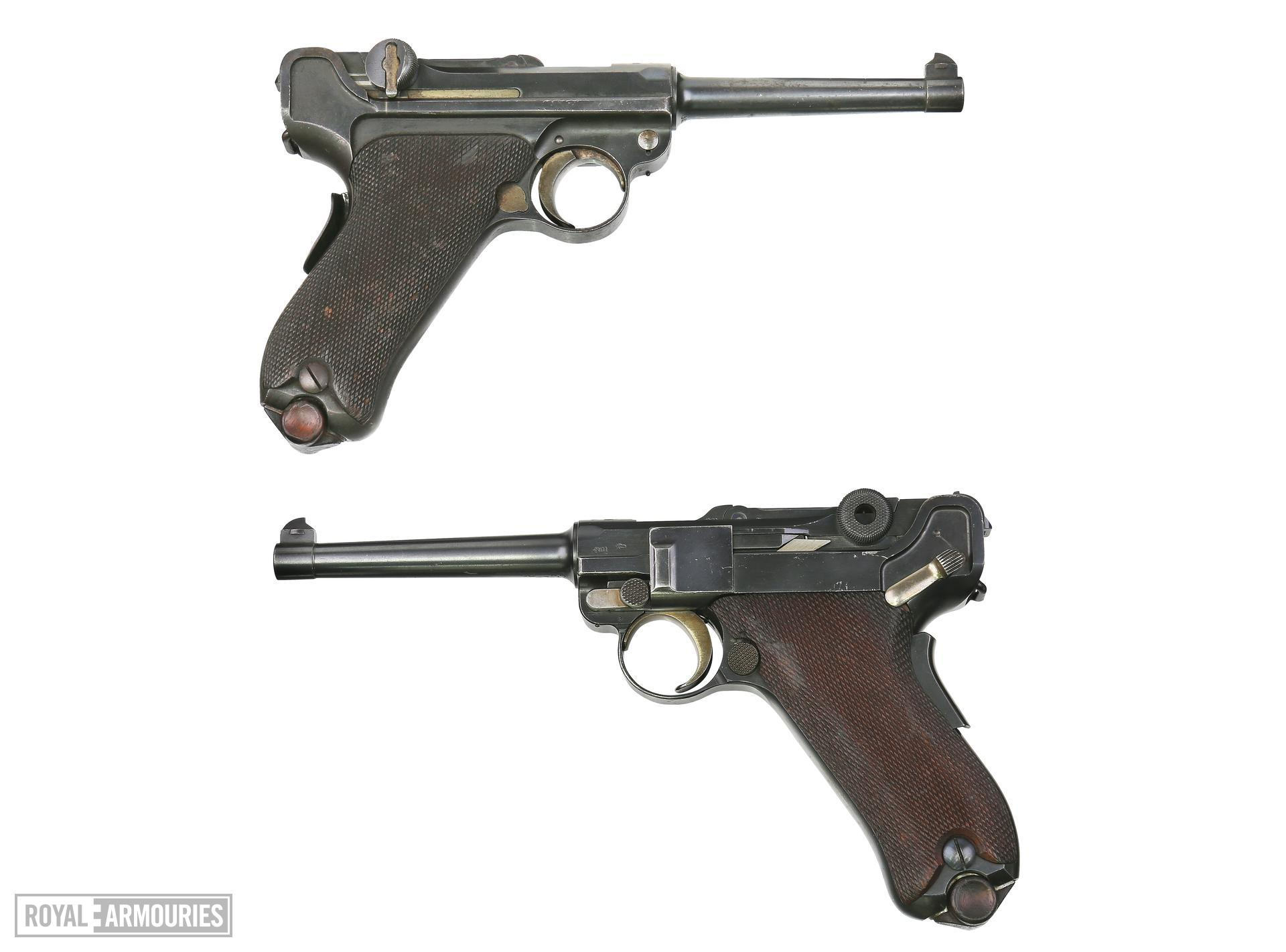 Centrefire self-loading pistol - Luger Model 1906, Commercial
