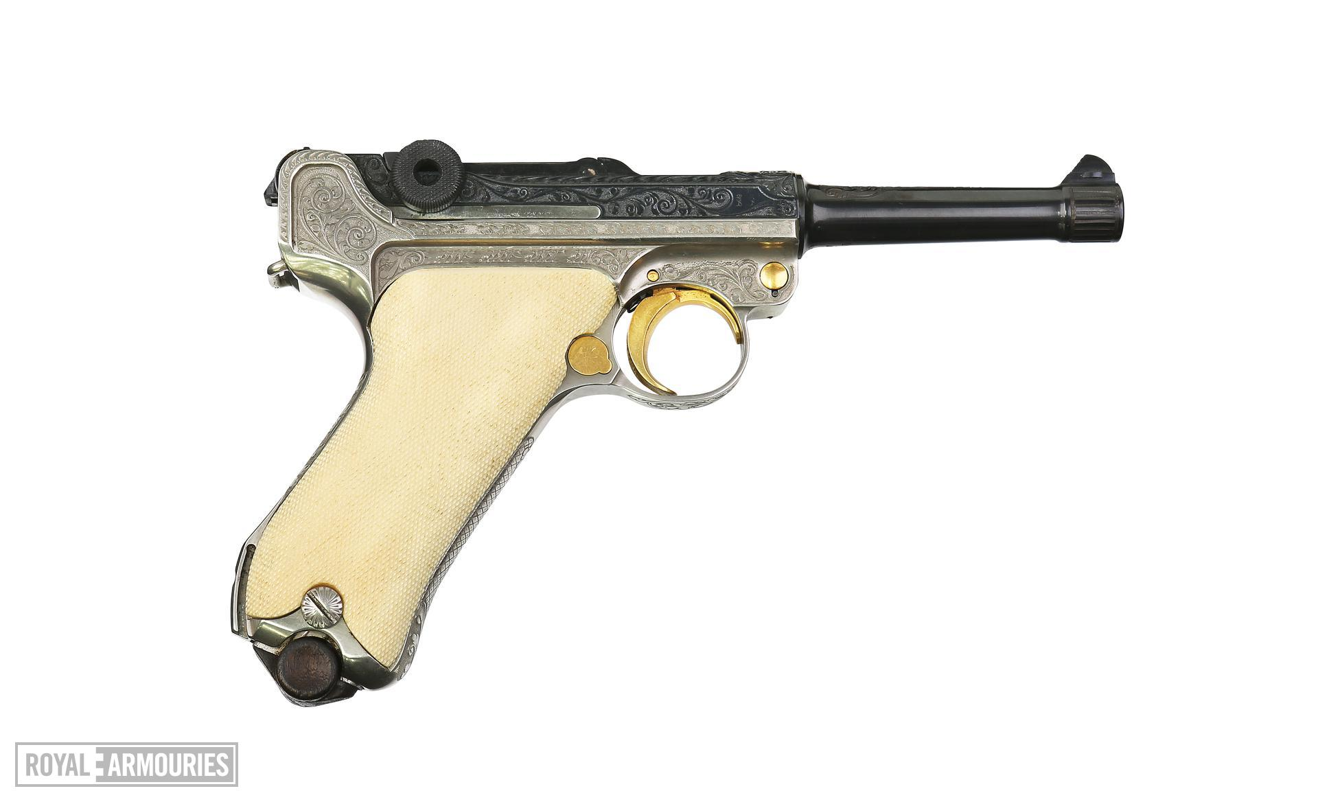 Luger P08, Centrefire self-loading pistol. XII.11476