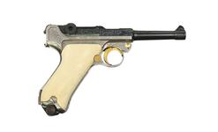 Thumbnail image of Luger P08, Centrefire self-loading pistol. XII.11476
