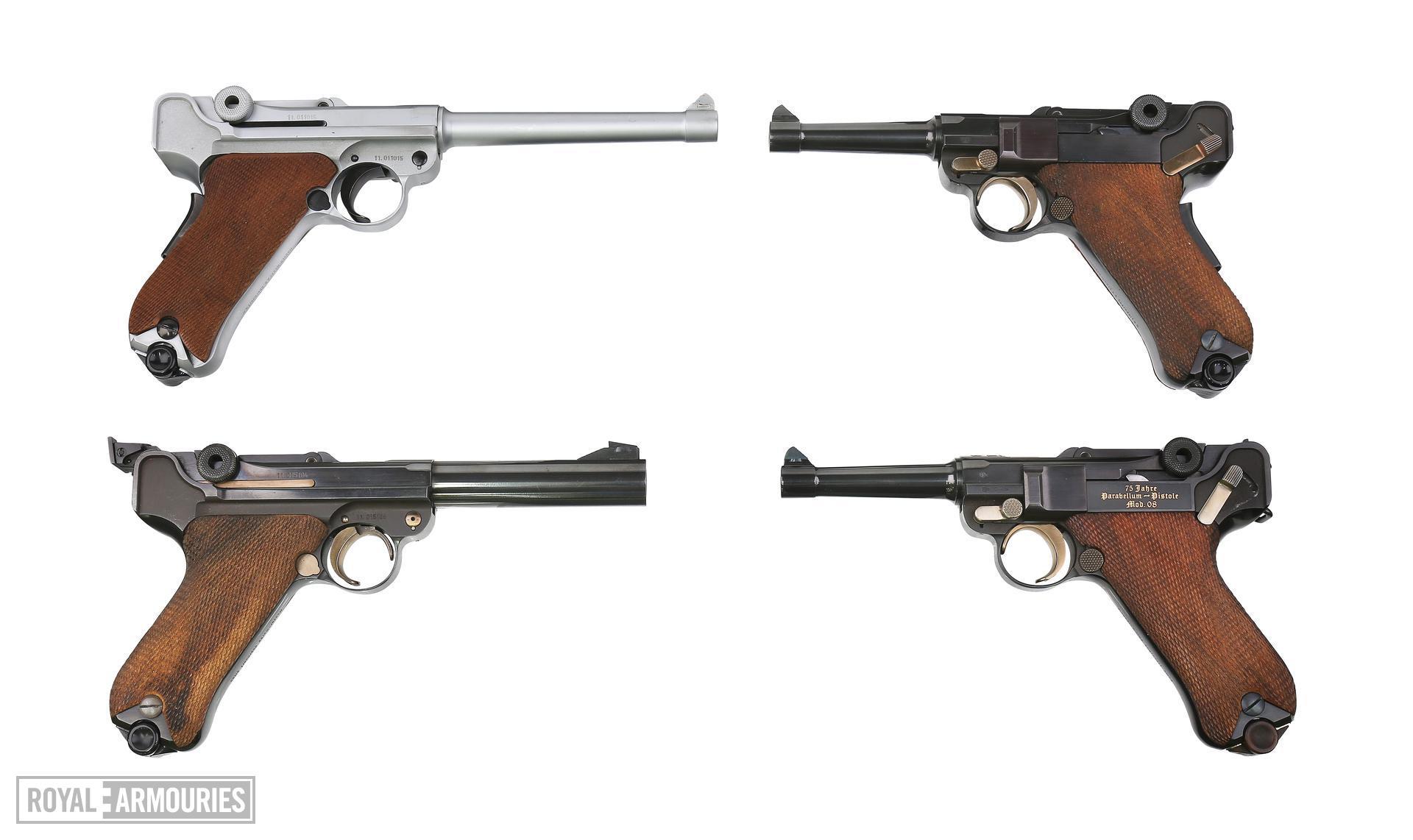 Rimfire self-loading pistol - Luger Postwar